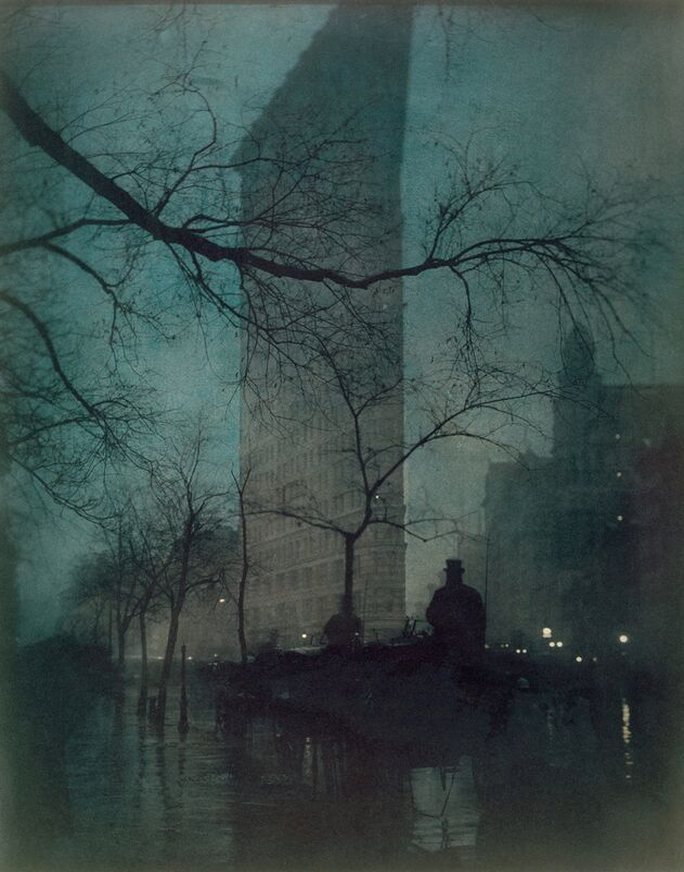 Flatiron Building, New York - Edward Steichen 1904 desde AUX BEAUX-ARTS Decor Image