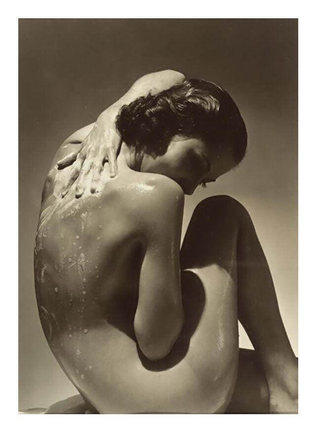 Back - Edward Steichen 1923 from Aux Beaux-Arts, Prodi Art, nude, two, woman, edward steichen, savon, shower