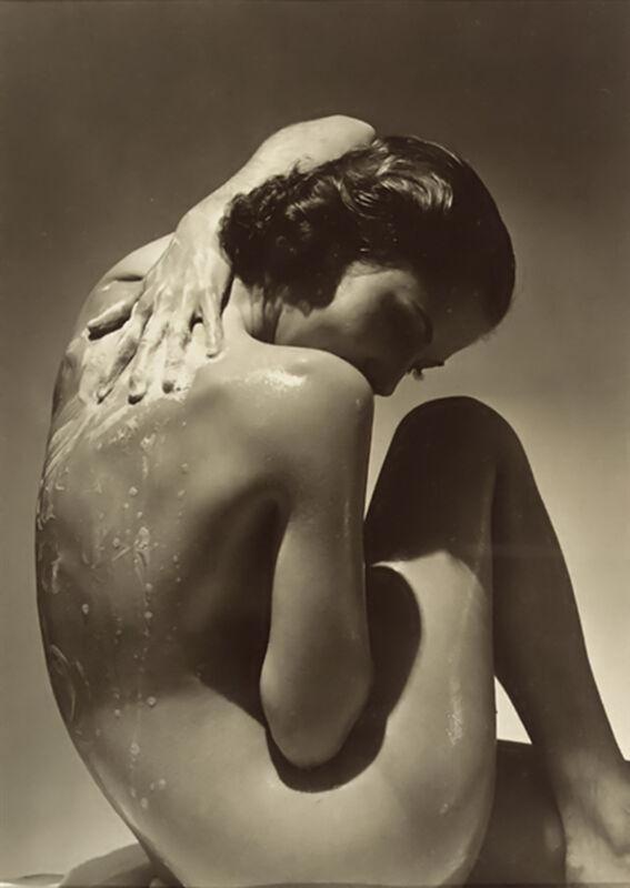 Back - Edward Steichen 1923 desde AUX BEAUX-ARTS Decor Image
