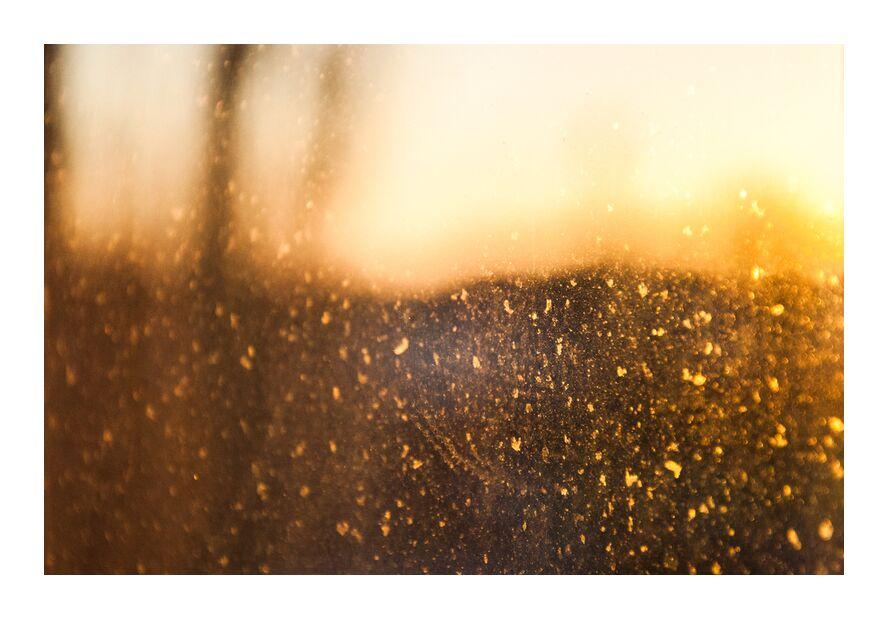 Quand le silence est d'Or de Marie Guibouin, Prodi Art, silence, or, étoiles, jaune, marie guibouin, flou, dorée, pépites, art abstrait, flou artistique