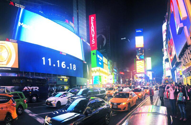 Times Square de Cyril Jourdan Decor Image