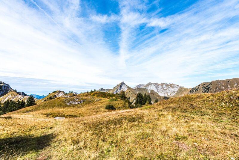 En plein coeur des montagnes savoyardes de Marie Guibouin Decor Image