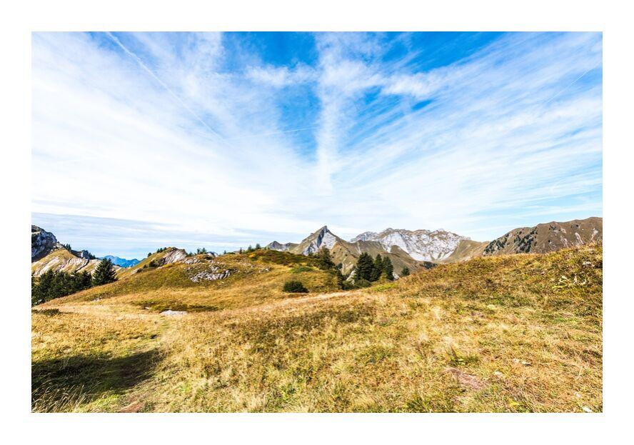 En plein coeur des montagnes savoyardes de Marie Guibouin, Prodi Art, inspiration, méditation, ressourcement, haute-savoie, savoie, marie guibouin, montagnes