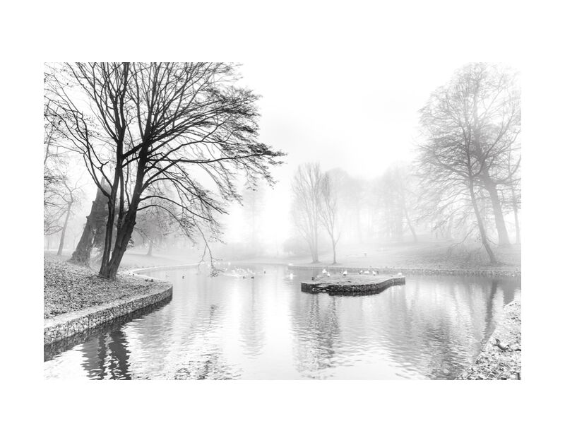 SERENITY de Eric-Anne Jordan-Wauthier, Prodi Art, Touche haute, Sérénité, Noir et blanc, EPhotographie