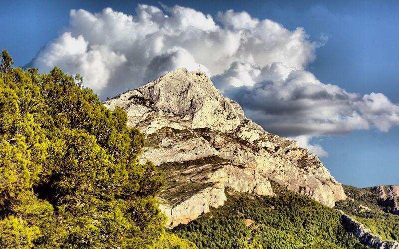 Montagne de la Sainte Victoire de Frédéric Traversari Decor Image