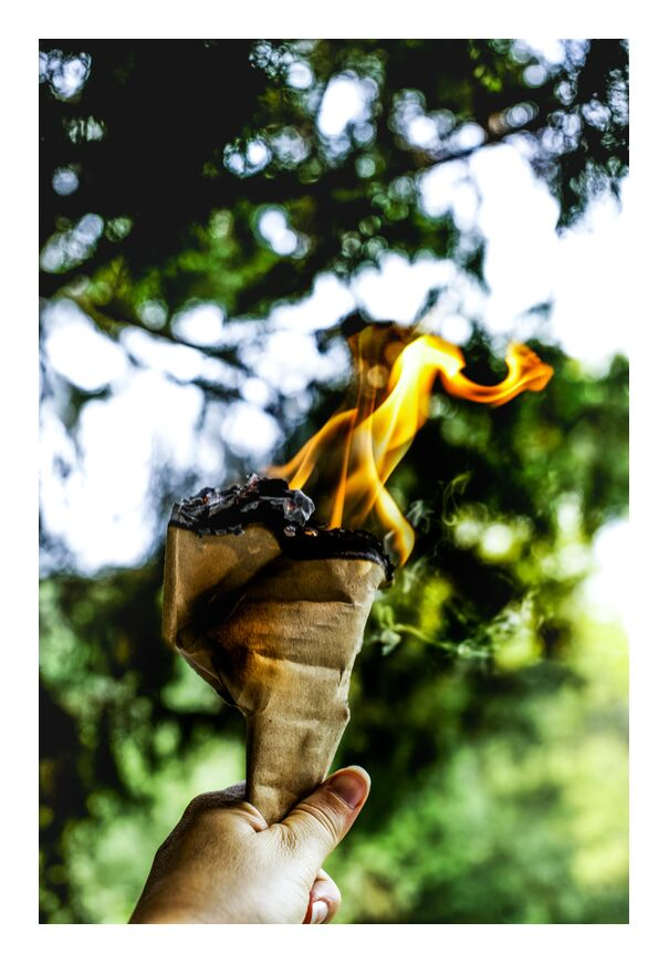 Le FEU de Marie Guibouin, Prodi Art, , flamme, Feu, joie