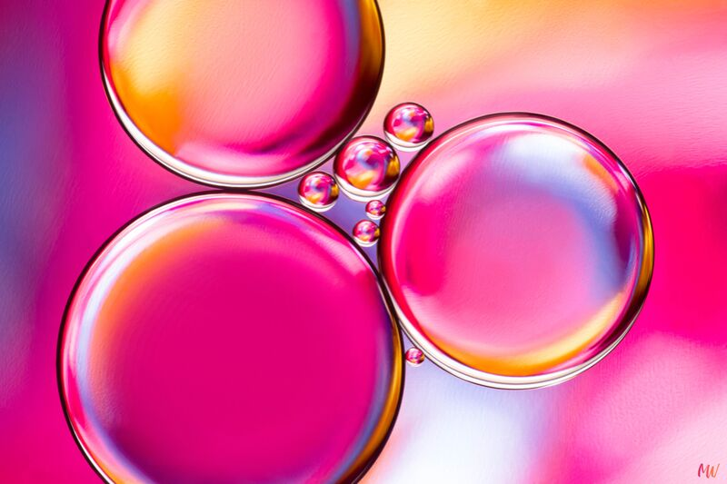 Oily bubbles #8 from Mickaël Weber Decor Image