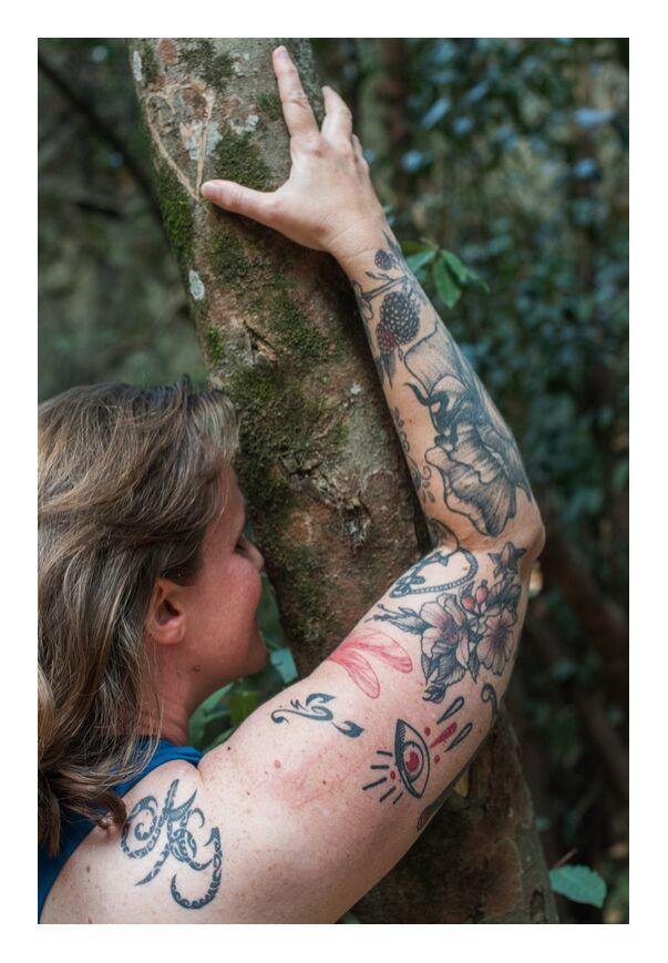 Sorcière Morgane de Marie Guibouin, Prodi Art, sorcière, tatouages, morgane sifantus, sorcière morgane, nature, marie guibouin