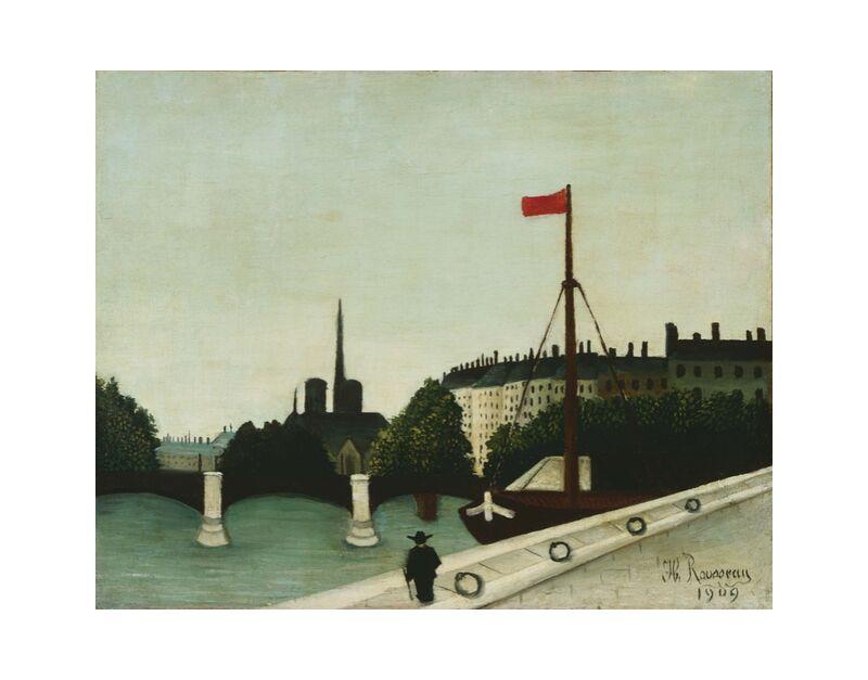 Notre-Dame seen from quai Henri IV desde AUX BEAUX-ARTS, Prodi Art, Rousseau, París, Henry iv, Nuestra dama