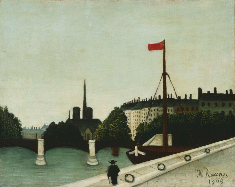 Notre-Dame vue du quai Henri IV de Aux Beaux-Arts Decor Image