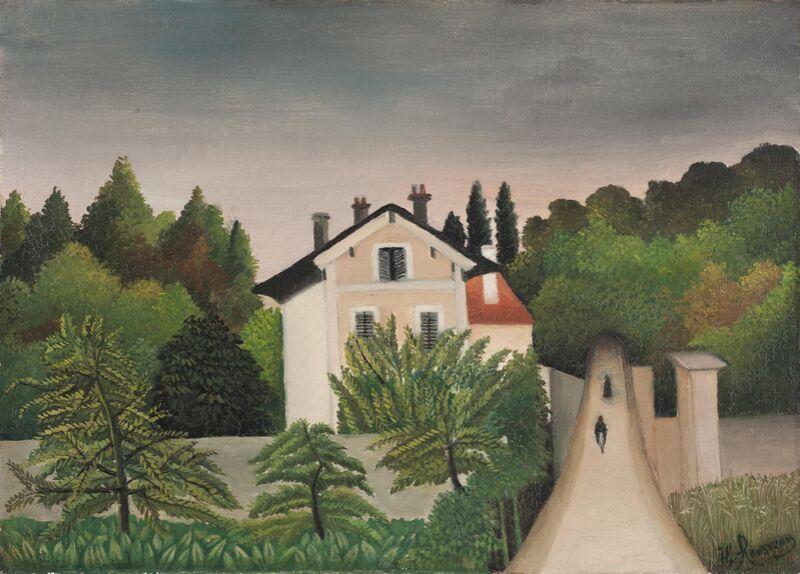 Landscape Taken on the Edges of Oise, Territory of Chaponval desde AUX BEAUX-ARTS Decor Image