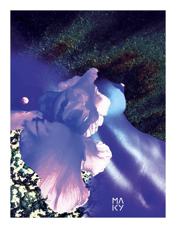 気1.1 from Maky Art, Prodi Art, digital art, digital collage, visual art, texture, flowers, body