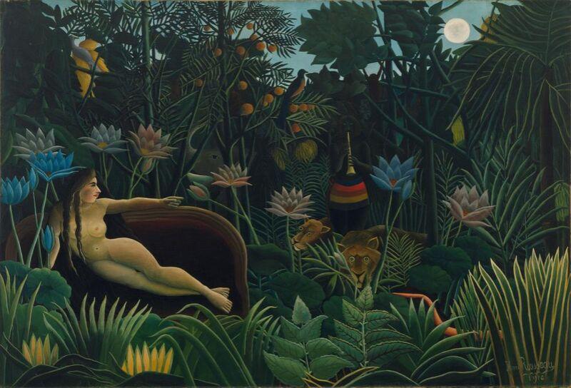 Le rêve de Aux Beaux-Arts Decor Image
