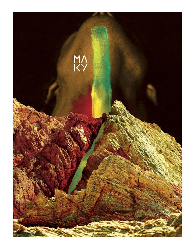 気7.2 from Maky Art, Prodi Art, digital collage, visual art, mountains, body, texture