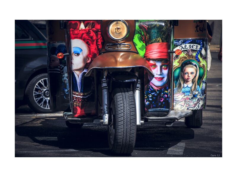 Fantasy de Caro Li, Prodi Art, fantaisie, fantaisie, voiture, rue, rue, Joker