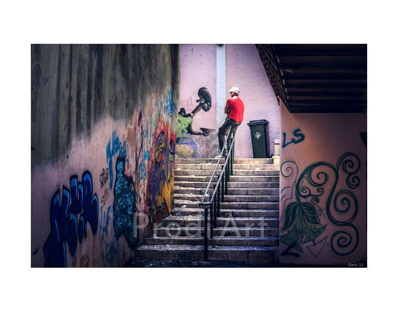 The Break from Caro Li, Prodi Art, tag, Dear Li, Lisbon, portugal, street art, street, street art, Photography