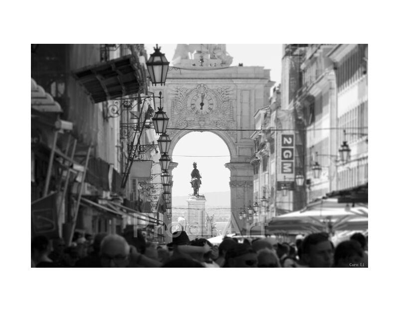 Lisbon from Caro Li, Prodi Art, Lisbon, Lisbon, street, street, Photography