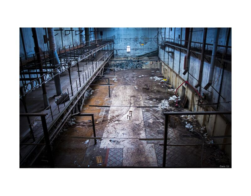 The Chair from Caro Li, Prodi Art, abandoned place, Photography, street, Urbex, urban exploration, Dear Li, abandoned