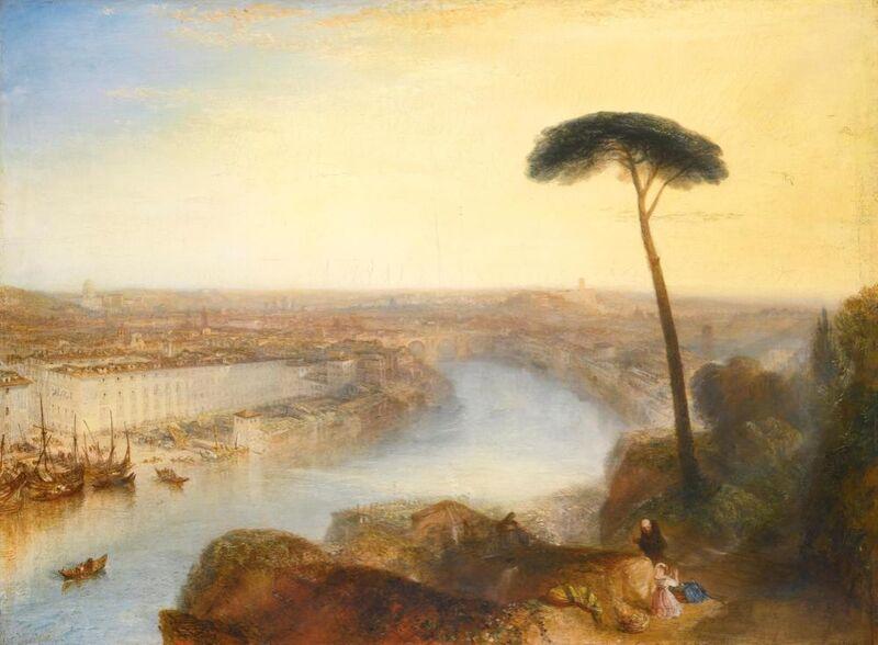 Rome, vue de l'Aventin - WILLIAM TURNER 1835 de Aux Beaux-Arts Decor Image