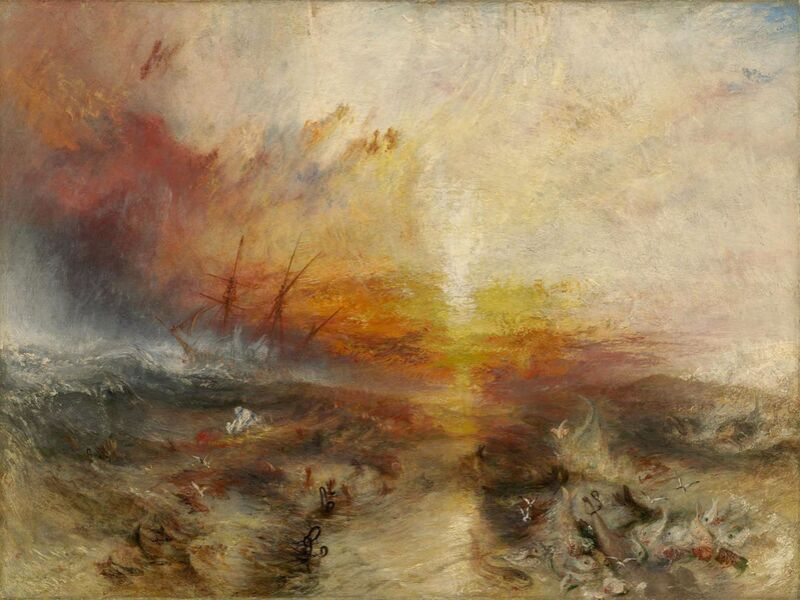 The slave ship - WILLIAM TURNER 1840 from Aux Beaux-Arts Decor Image