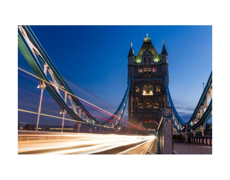 Tower bridge from Aliss ART, Prodi Art, Tower Bridge, Thames, lightpainting, traffic, Thames, night, long-exposure, london, lights, pont