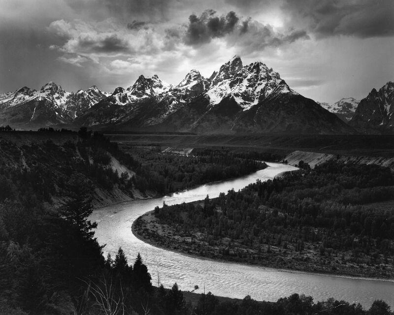 Rivière Snake, Las Cruces, ANSEL ADAMS 1942 de Aux Beaux-Arts Decor Image