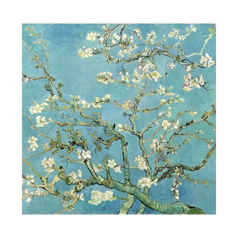 Branches d'amandier en fleurs, Saint-Rémy - VINCENT VAN GOGH 1890 de AUX BEAUX-ARTS, Prodi Art, arbre en fleur, VINCENT VAN GOGH, nature, fleurs, branche, arbre, peinture