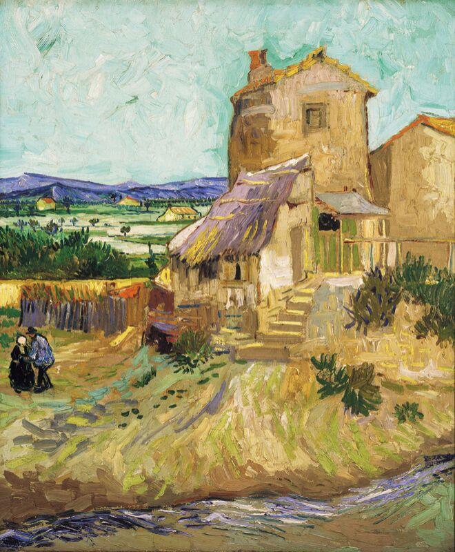 Le vieux moulin - VINCENT VAN GOGH 1888 de Aux Beaux-Arts Decor Image