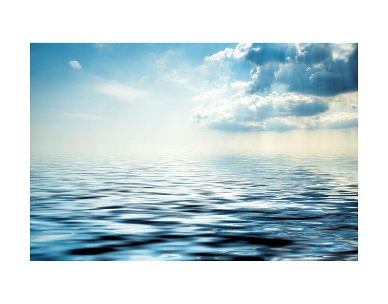 Le reflet des nuages de Aliss ART, Prodi Art, plage, nuages, lumière, océan, en plein air, mer, paysage marin, ciel, été, soleil, eau, vague