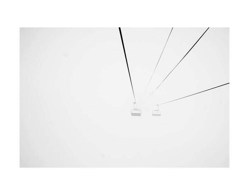 نحو المجهول from Aliss ART, Prodi Art, fog, foggy, cable car, streetcar, funicular, ski lift