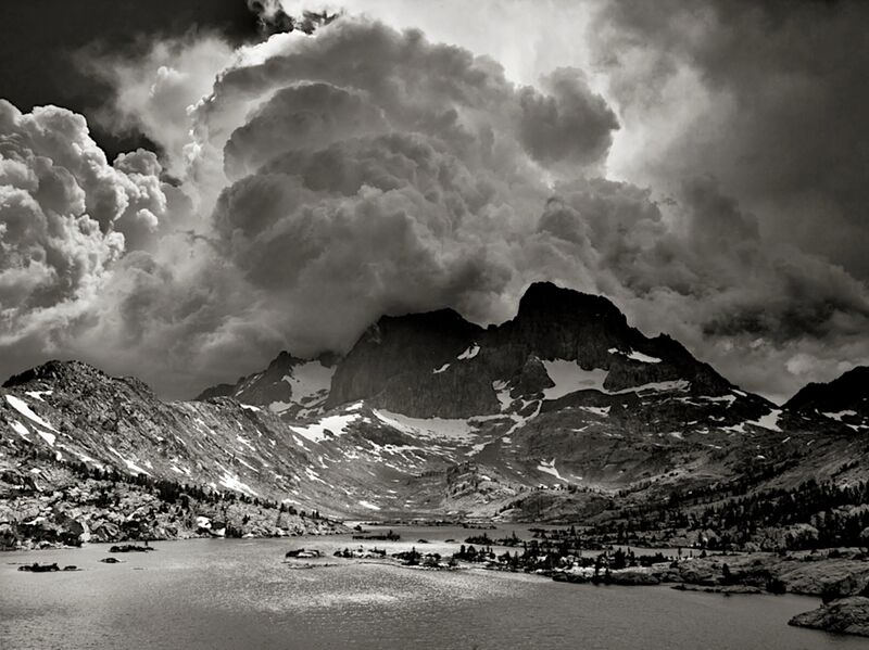 Garnet Lake, California, ANSEL ADAMS from Aux Beaux-Arts Decor Image