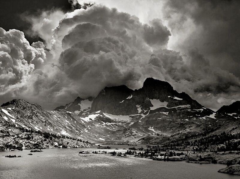 Garnet Lake, Californie, ANSEL ADAMS de AUX BEAUX-ARTS Decor Image
