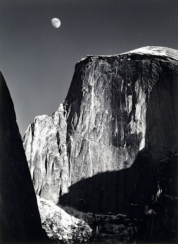 Yosemite national park,  California, ANSEL ADAMS - 1960 from AUX BEAUX-ARTS Decor Image