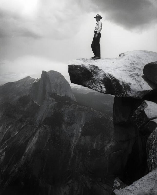 Yosemite, the cowboy - ANSEL ADAMS - 1948 desde AUX BEAUX-ARTS Decor Image