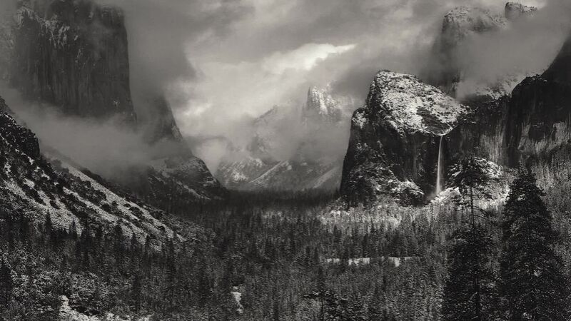 Yosemite, United States - ANSEL ADAMS 1952 from Aux Beaux-Arts Decor Image
