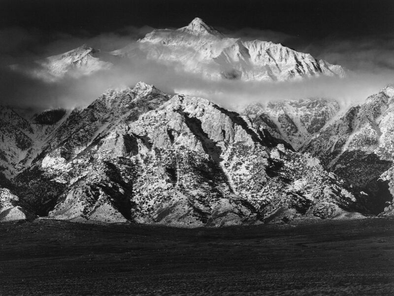 Mountain Williamson, Sierra Nevada - ANSEL ADAMS 1949 from Aux Beaux-Arts Decor Image