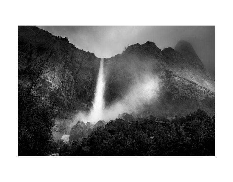 The fountain, New Mexico, ANSEL ADAMS 1956 desde AUX BEAUX-ARTS, Prodi Art, montañas, blanco y negro, árbol, bosque, cielo, lluvia, ANSEL ADAMS, fuente