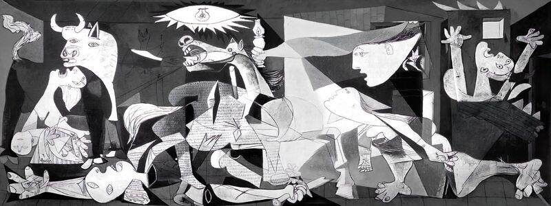 Guernica - PABLO PICASSO from AUX BEAUX-ARTS Decor Image