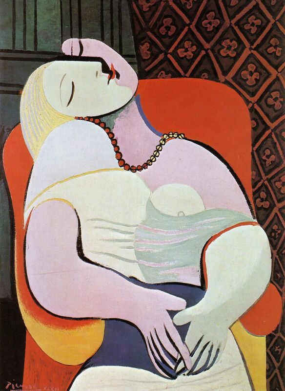 Le rêve - PABLO PICASSO de Aux Beaux-Arts Decor Image