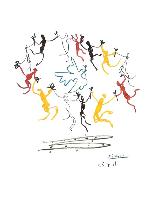 The dance of youth - PABLO PICASSO from AUX BEAUX-ARTS Decor Image