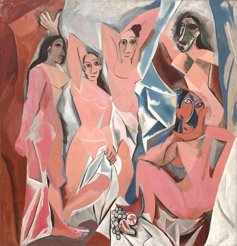 Les Demoiselles d'Avignon - PABLO PICASSO de Aux Beaux-Arts Decor Image