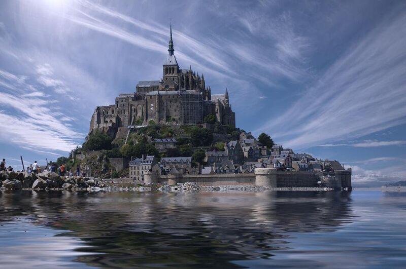 Le Mont-Saint-Michel from Aliss ART Decor Image