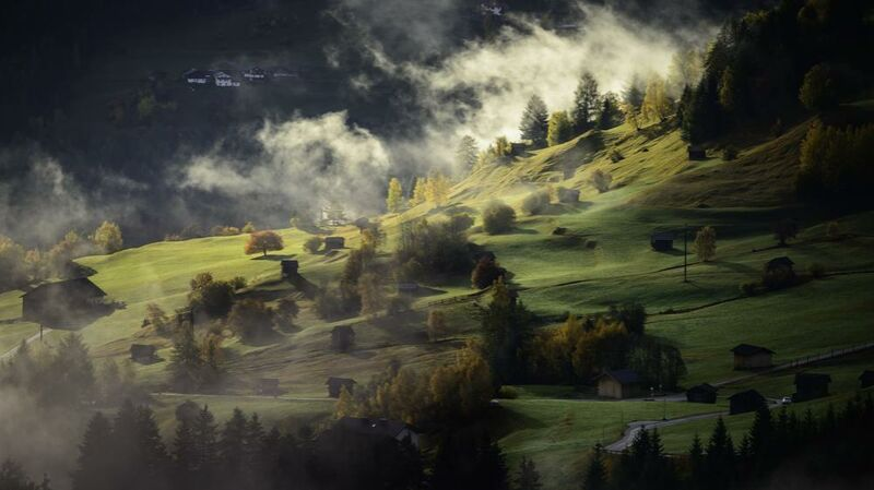 Brouillard sur la colline from Aliss ART Decor Image