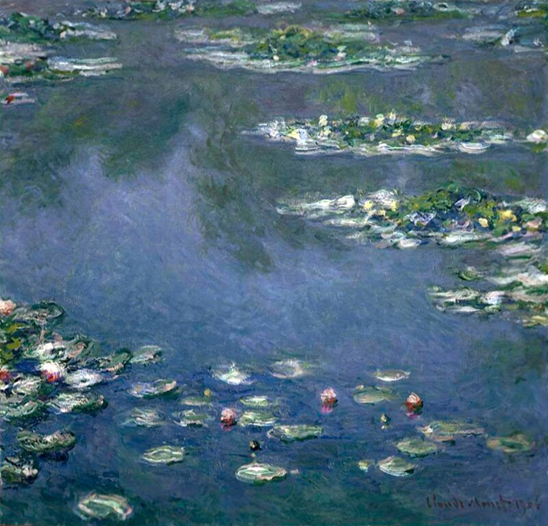 Les Nymphéas - CLAUDE MONET de Aux Beaux-Arts Decor Image