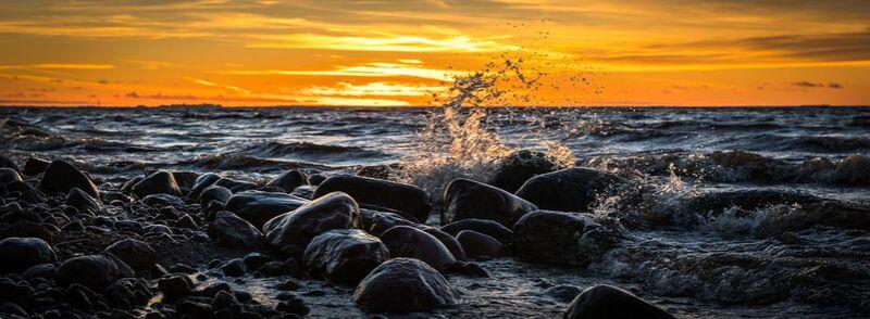 Rochers sur mer de Aliss ART Decor Image