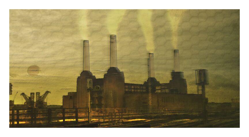 A timed life from Adam da Silva, Prodi Art, london, factory, Sun, train, city, job, yellow, bees, Red sun, railway