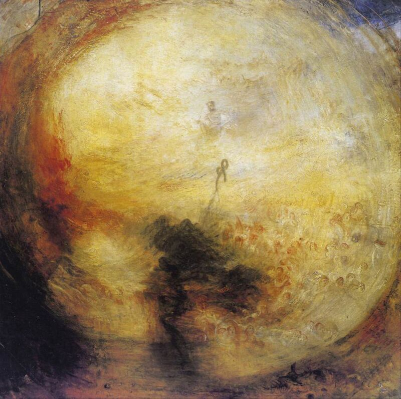 The Morning after the Deluge - WILLIAM TURNER 1843 desde AUX BEAUX-ARTS Decor Image