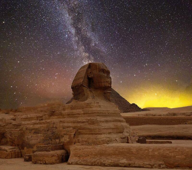 Grand sphinx de gizeh de Aliss ART Decor Image