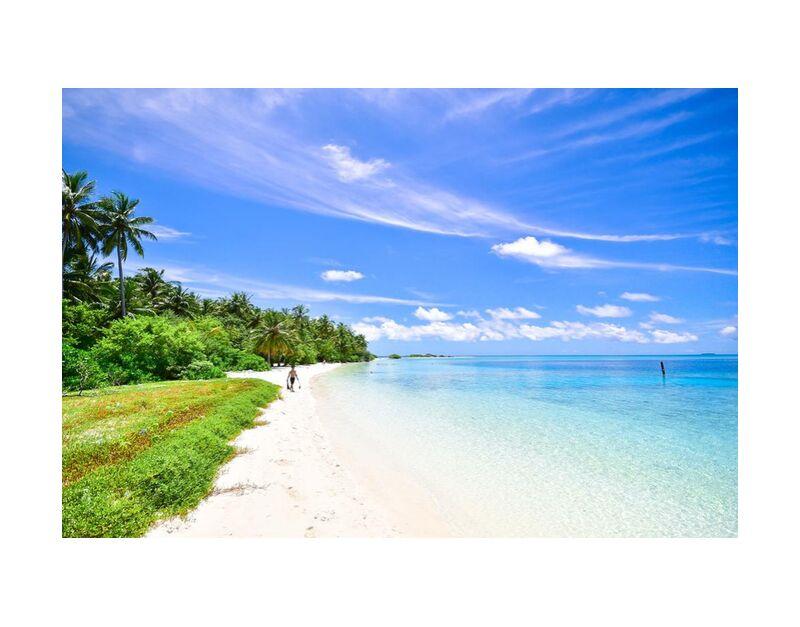 Tranquilité de Aliss ART, Prodi Art, cabane de plage, eau, vacances, Voyage, sunny, ciel, rive, paysage marin, mer, scénique, sable, océan, côté, plage