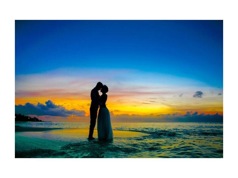 Amour from Aliss ART, Prodi Art, beach, couple, dawn, dusk, evening, island, love, maldives, man, morning, ocean, romance, sea, silhouette, summer, sunrise, sunset, travel, tropical, water, wedding, affair, anniversary, , Asadphoto, atoll, couple goal, , honeymoon, kiss, relation, young couple